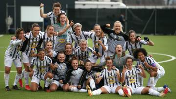 La festa della Juventus femminile