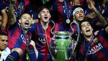 Barcelona's 'MSN' trio were unstoppable