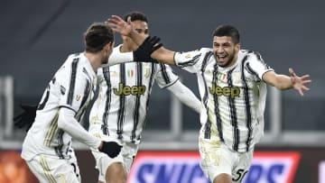 L'esultanza spontanea di Rafia, dopo il gol del definitivo 3-2
