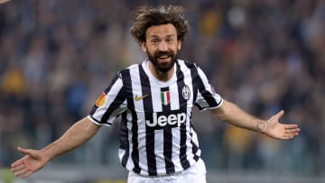 Pirlo playing for Juventus