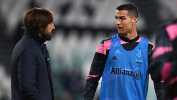Andrea Pirlo dan Cristiano Ronaldo