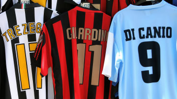 Juvenus, AC Milan and Lazio football clu