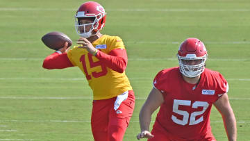 Patrick Mahomes and the Kansas City Chiefs are at the top of the NFL power rankings by the odds to win Super Bowl 56 entering Week 1 of the preseason.