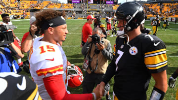 Patrick Mahomes and Ben Roethlisberger.