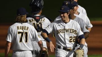The 2021 MLB projected win total for the Milwaukee Brewers is disrespectful.