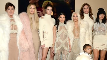 Khloe Kardashian, Kris Jenner, Kendall Jenner, Kourtney Kardashian, Kim Kardashian West, North West, Caitlyn Jenner, Kylie Jenner
