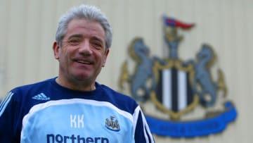 Kevin Keegan returned to Newcastle in 2008