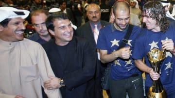 Kuwait's Al-Kazma club president Asaad a
