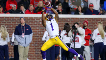 LSU star Ja'Marr Chase is a lock to go early in April's NFL Draft.