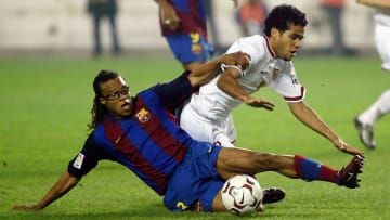 Edgar Davids enjoyed a short yet successful spell with Barcelona