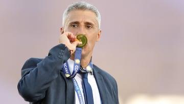 Luego de su gran campaña con Defensa y Justicia, Hernan Crespo fue nominado al mejor entrenador de Sudamérica