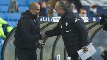 Marcelo Bielsa has been full of praise for Pep Guardiola