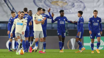 Leicester go through as group winners.
