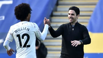 Willian was at the heart of Arsenal's excellent win at Leicester City on Sunday