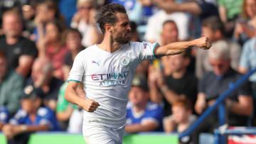 Bernardo Silva was ecstatic with his goal