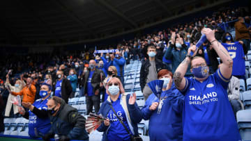 Fans returned to Premier League games in limited numbers in May