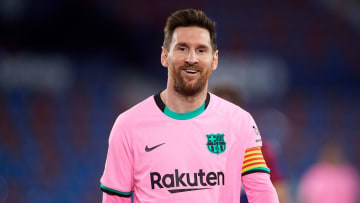 Lionel Messi is currently in contract negotiations with Barcelona