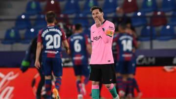 Barcelona ditahan imbang 3-3 oleh Levante