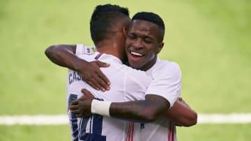El Real Madrid venció al Levante por 0-2