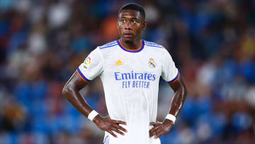 David Alaba would rather not have been given the number 4 shirt at Real Madrid