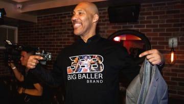 LaVar Ball, founder of the Big Baller Brand