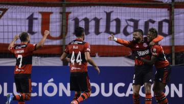 Rubro-Negro vence no Equador e fica com um pé nas oitavas de final da Conmebol Libertadores.