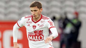 Romain Perraud réalise une belle saison avec le Stade Brestois;