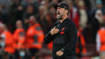 Jurgen Klopp celebrates Liverpool's Champions League victory over Milan ahead of their Premier League meeting with Crystal Palace