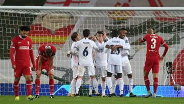 Liverpool FC v Real Madrid - UEFA Champions League Quarter Final: Leg Two