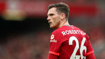 Andrew Robertson suffered ankle ligament damage in pre-season