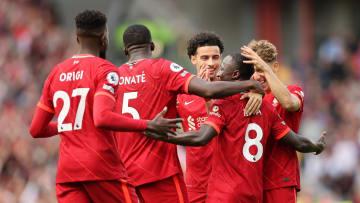Liverpool cette saison contre Crystal Palace