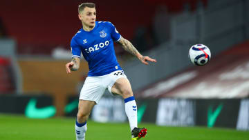 Lucas Digne has signed a new long-term contract with Everton