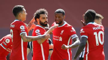 Liverpool akan bertemu Manchester United di pekan ke-34 Liga Inggris 2020/21
