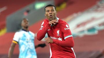 Wijnaldum looks set to depart Anfield when his contract expires