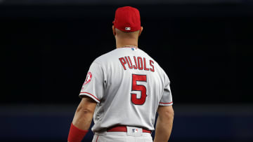 Los Angeles Angels star Albert Pujols' father is reportedly being charged with a serious crime.