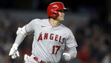 Ohtani hit his 40th homer with the Angels
