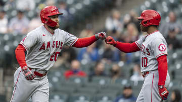 Jared Walsh commanded the Los Angeles Angels' win