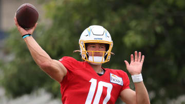 Justin Herbert, Los Angeles Chargers Training Camp