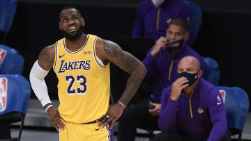 LeBron James, Los Angeles Clippers v Los Angeles Lakers