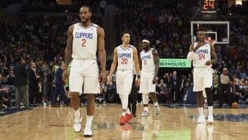 Leonard firmó con los Clippers en la agencia libre antes del comienzo de la temporada 2019-20 de la NBA