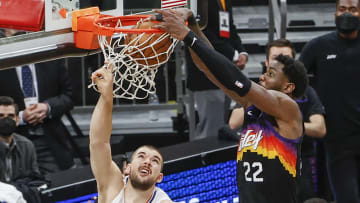 Deandre Ayton wins the game for the Suns in Game 2.