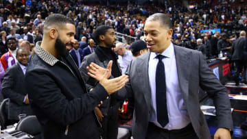 Drake and Ty Lue