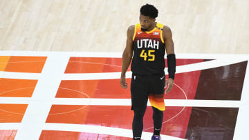 Donovan Mitchell has struggled since tweaking his ankle.