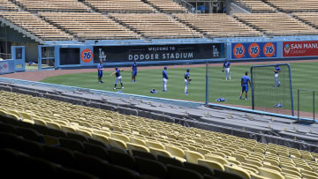 Los Angeles Dodgers Summer Workouts