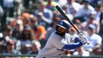 Los Angeles Dodgers outfielder Andrew Toles