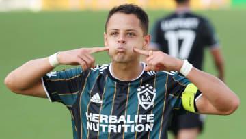 Javier Hernández tuvo una destacada actuación con El Galaxy de Los Ángeles al marcar un doblete contra el Inter Miami.