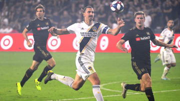 Ibrahimovic scored on his Los Angeles Galaxy debut
