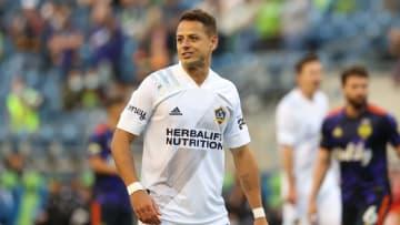 Javier, 'Chicharito' Hernández, delantero del LA Galaxy