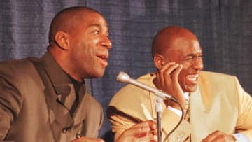 Magic Johnson kind of picked who's the true GOAT between Michael Jordan and LeBron James.