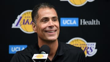 Rob Pelinka, Los Angeles Lakers Media Day